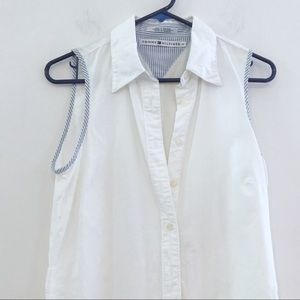 Vintage Tommy Hilfiger whit cotton shirt dress